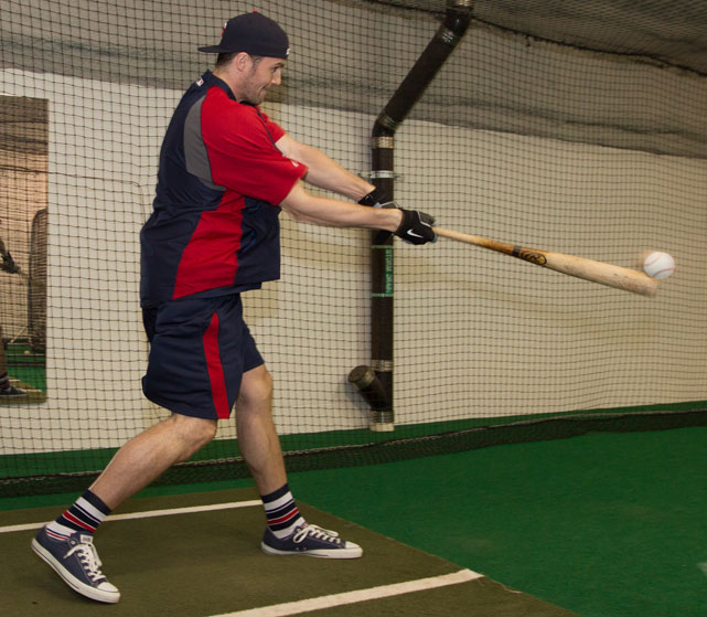 The Twins invited Kevin Love to take batting practice before Friday's game against the Tigers. The Timberwolves forward looked like a natural, crushing one homerun into the upper deck. In honor of Love, SI takes a look at other celebrities and athletes who couldn't resist stepping into the batting cage.