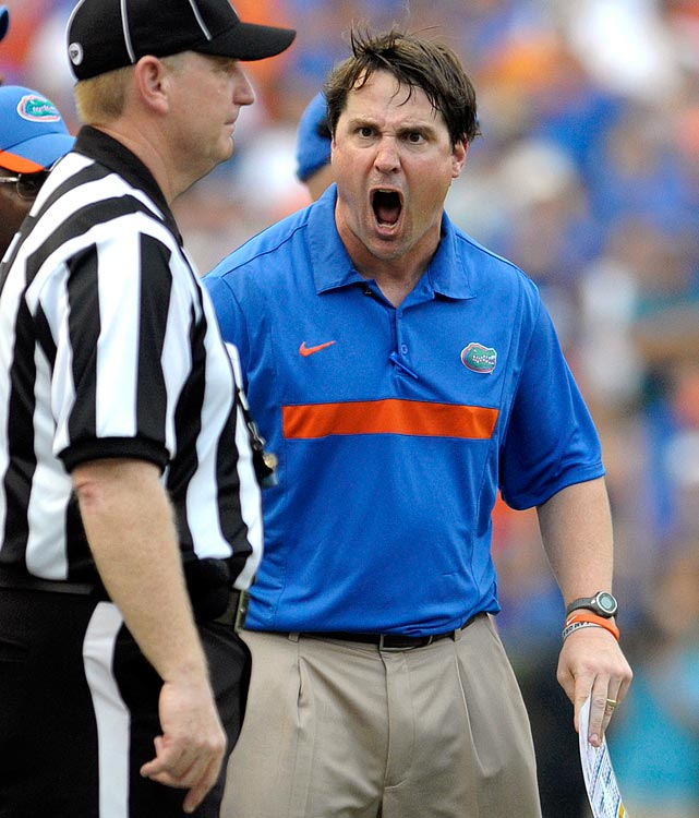 In his first year at the helm, Muschamp led the Gators to their most losses since 1987. This year, though, his team has rebounded and the Gators are 7-0 and off to their best start since 2009.