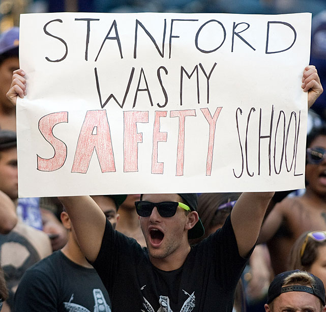 Not a lot of people choose Washington over Stanford. This is one of them.