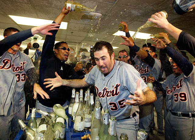 Detroit won the first two games of its Division Series matchup with the A's but lost Games 3 and 4 in Oakland, including blowing a ninth-inning lead in the latter. In Game 5, the visiting Tigers turned to Justin Verlander, who held Oakland to just four hits while striking out 11 in a 6-0 win.