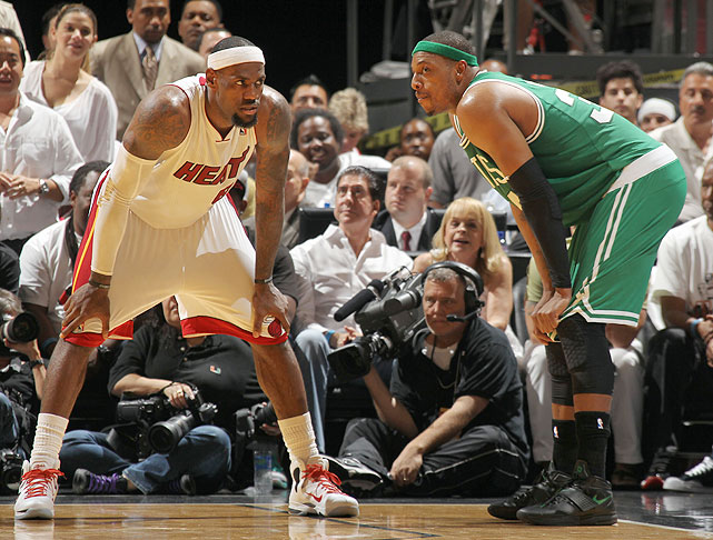 The NBA opens the season in South Beach with a rematch of the Eastern Conference finals. The Celtics obviously fell to the eventual champs in that matchup, but they hold a 6-2 record over the Heat in the regular season in the two years since LeBron James joined the team.
