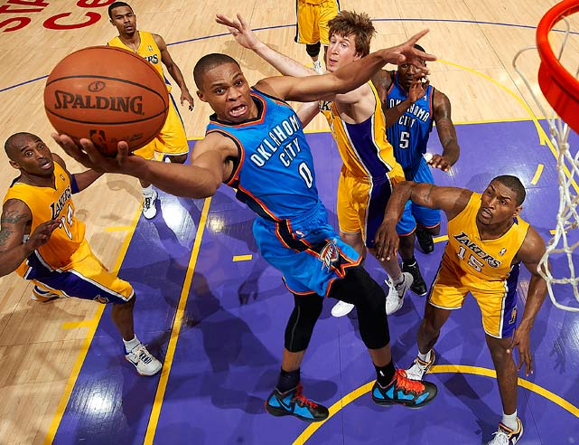 If Westbrook also makes the All-NBA first team, he and Durant would become the first teammates to accomplish the feat together since former Suns Steve Nash and Amar'e Stoudemire did it in 2006-07.
