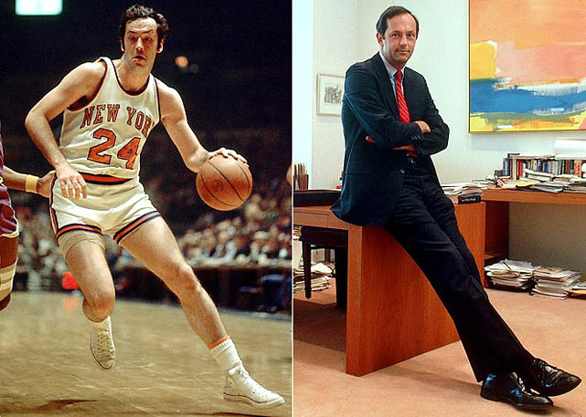 The former NBA all-star was a Rhodes scholar and won two NBA titles with the Knicks. He settled in New Jersey, was elected to the Senate in 1978 and served three terms. In 2000, Bradley ran for president, eventually losing the Democratic nomination to Al Gore.
