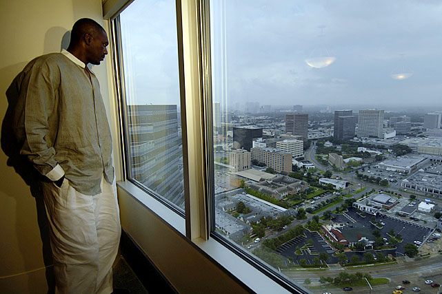 The dominant Houston Rockets center of the '90's found another area in which to tower over his competition: real estate. Olajuwon got into the business while he was still playing, and his 25-plus transactions since then have totaled more than $100 million. Only buying and selling land and eschewing the use of credit, he has become nearly as well-known in Houston for his real estate work as he was for his Hall-of-Fame hoops career.