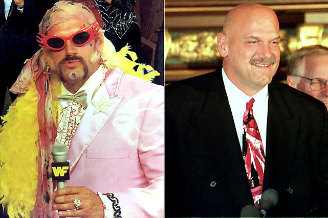 """Jesse """"the Body"""" Ventura seamlessly transferred from a life of pro wrestling to the governor's house of Minnesota. He served from 1999 to 2003 and didn't seek a second term."""