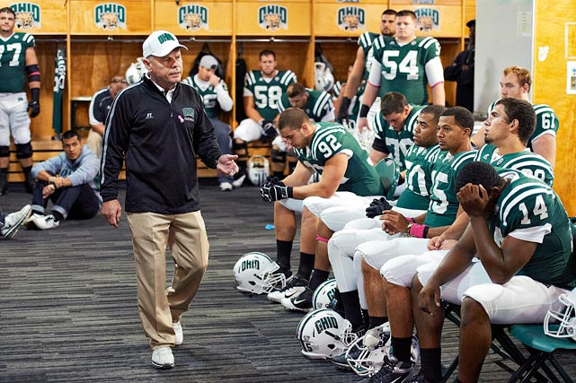 It's unclear how well Frank Solich was treated at Nebraska since he was merely Tom Osborne's successor. People forgot about him when he left Lincoln. Now, Solich is in Athens, Ohio, and he may be turning Ohio -- no, not Ohio State -- into the next Boise State.