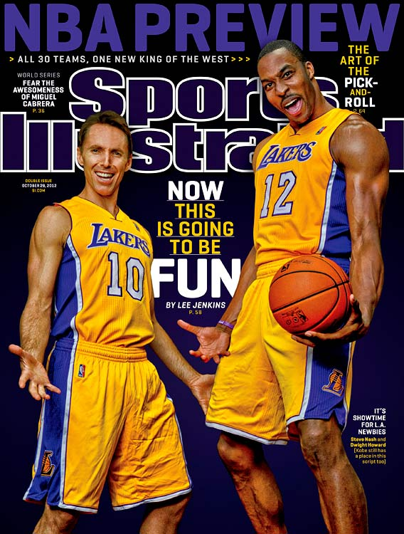 Should we still be hating Dwight Howard? After descending from a likable giant to one of the league's most reviled superstars, Howard is a new environment and is getting back to having fun again. Lee Jenkins goes deep into the new-look Lakers and how Howard could help transform the iconic franchise.