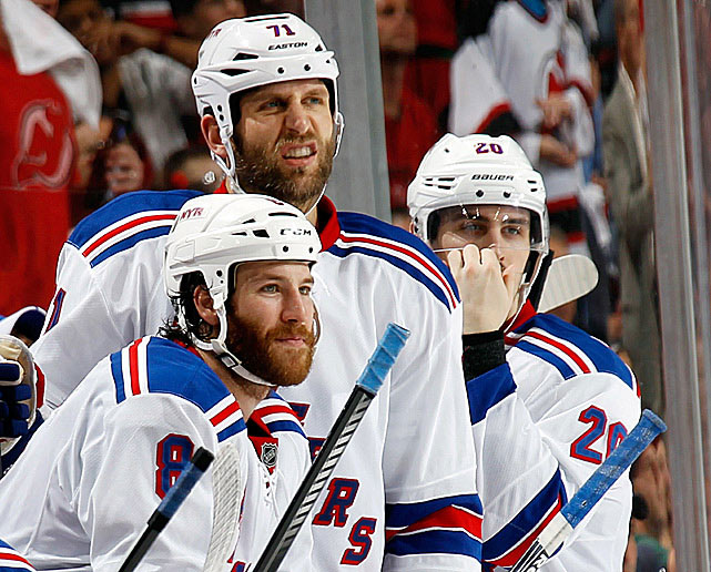 """Gary bettman's autobiography is in stores now. It's titled 'how I destroyed a sport and a nation'"" -- Ex-Rangers winger Prust via Twitter (@BrandonPrust8)  ""'M-I-C-K-E-Y M-O-U-S-E' - The 3 other Major Sports"" -- Rangers center Rupp via Twitter (@Rupper17) on what the other leagues think of the NHL now (a reference to Wayne Gretzky's famous remark about the then-hapless New Jersey Devils organization)"