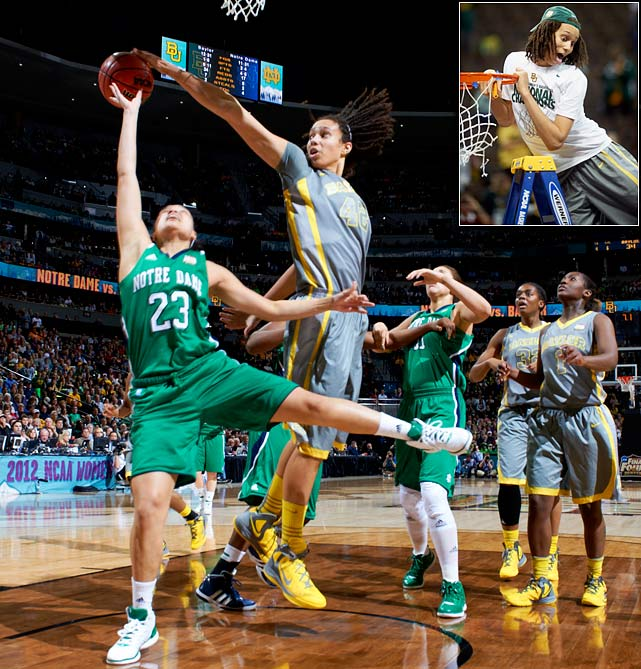 All season long Brittney Griner was unstoppable. So much so that her team finished the year 40-0, the best record in NCAA history. Griner, the AP Player of the Year, averaged 23 points, nine rebounds and five blocks that season.