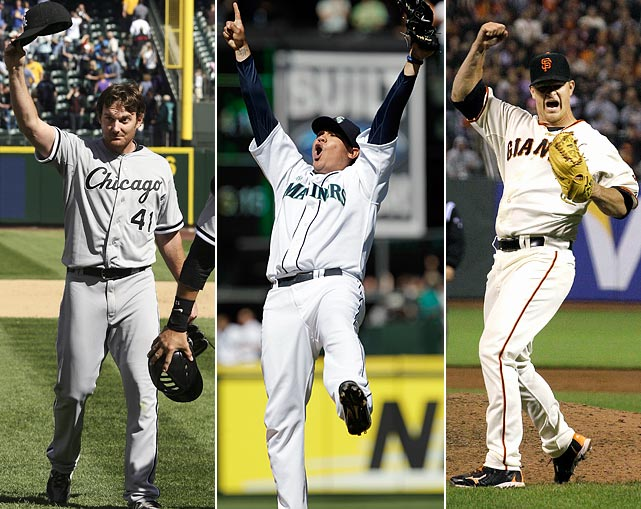 In 2012, perfect games began to feel somewhat commonplace, if that is even possible. That is thanks to the fact that three pitchers managed to complete the feat in one season, a previously unheard of rate. Philip Humber needed just 96 pitches to get past the Mariners, Matt Cain dismissed the Astros and Felix Hernandez blew away the Rays.