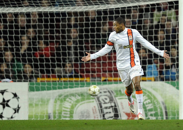 "During a Champions League game in November, Shakhtar Donetsk forward Luiz Adriano violated age-old soccer etiquette by scoring an uncontested goal against Nordsjaelland. after a drop ball. The Brazilian forward shot into an empty net following a stoppage in play when a Nordsjaelland player was injured. He was later charged by UEFA based on Article 5 of its disciplinary regulations. It includes clauses on conduct which is ""insulting or otherwise violates the basic rules of decent,'' and which ""brings the sport of football, and UEFA in particular, into disrepute.'' UEFA suspended Adriano for one game."