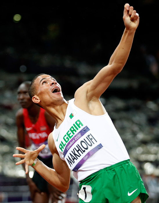 "Algerian runner Taoufik Makhloufi lackadaisically jogged the men's 800-meter race at the Olympics, claiming he had a knee injury; although many suspected that he was saving his energy for the upcoming 1500-meter race. Makhloufi was withdrawn from the 1500 by the IOC, but eventually reinstated, going on to win gold by 0.71 of a second. Imagine how much faster he would have been if he hadn't had to struggle through that pesky ""knee injury."""