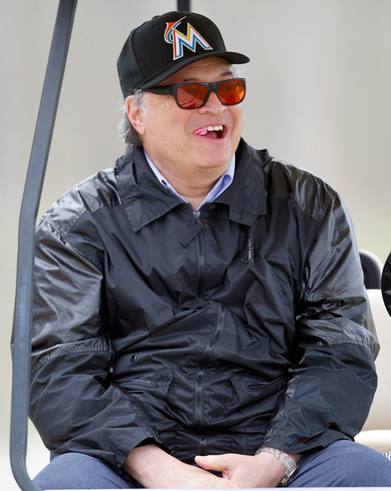 The owner of the Miami Marlins, arguably the worst in sports, embarked on a housecleaning this fall by dealing shortstop Jose Reyes, pitchers Mark Buehrle and Josh Johnson, catcher John Buck and infielder Emilio Bonifacio to Toronto in a 12-player trade. This came after getting South Florida taxpayers to plunk down 80 percent of the cost for his $634 million baseball park. Taxpayers ended up paying $409 million for Loria's retractable-roof stadium, an absolute fleecing.