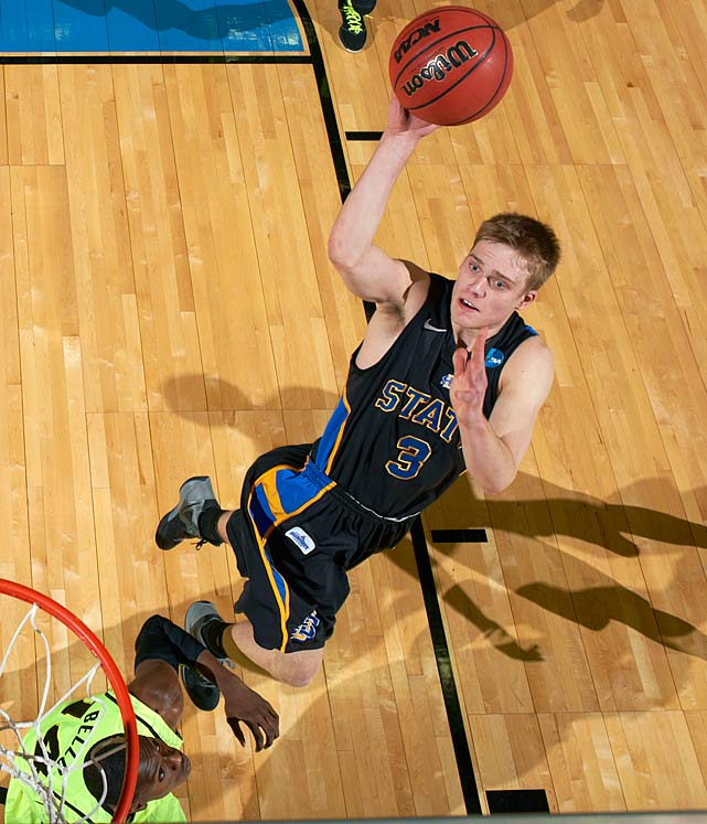 Stats to know: 21.2 ppg, 5.1 rpg, 5.9 apg A long-time hero to KenPom.com disciples, Wolters helped lead the Jackrabbits to the NCAAs last season and should again this campaign. Last season, he was a member of the very exclusive 20-5-5 club.