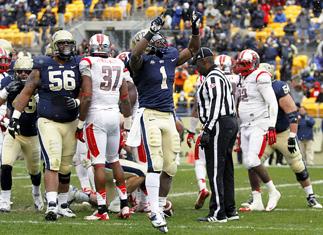 This time, Pittsburgh was able to finish off what it started. After allowing Notre Dame to climb back from an early deficit during the first weekend in November, the Panthers closed out their upset victory over Rutgers on Saturday, a game in which Ray Graham (pictured) rushed for 113 yards and a touchdown and Tino Sunseri passed for 227 yards and two scores. Pitt will play for bowl eligibility on Dec. 1 at South Florida.