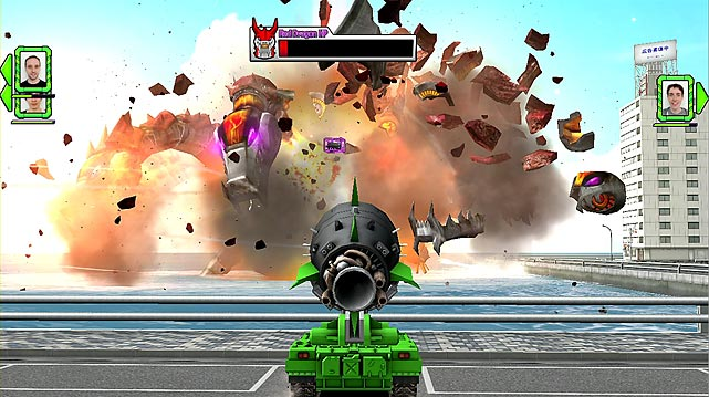 "Right off the bat Tank! Tank! Tank! is hampered by wonky and imprecise controls  that you'll fight more than enjoy. As you progress in the game you'll unlock more powerful weapons, but unfortunately the levels are generic and repetitive, and the graphics really feel a generation behind. The game is probably best during multiplayer outings in which you can play with up to four players in split-screen local matches.  The most notable multiplayer mode, My Kong, allows the player holding the GamePad to control a giant mechanical gorilla.  Tank! Tank! Tank! probably should've been called ""tank"". It's not really worthy of three exclamation marks or your time. Score: 3 out of 10"
