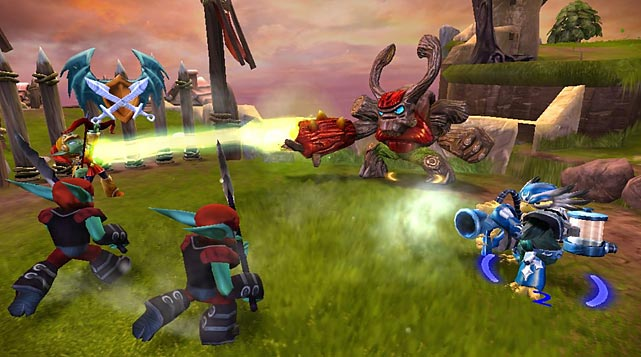 It's easy to dismiss Skylanders and its new sequel as a shallow, cynical money grab. After all, the game is replete with ads -- errr... previews -- for the 40-plus action figures that open new areas and characters in the game. The integration between the toys and the game, though, is still awfully cool, and the toys and the characters they unlock are varied and great fun to upgrade. This time around there are eight giant-sized characters that add a additional wrinkles to the familiar kill-the-bad-guys-to-level-up action from the first game. Fortunately, all of the characters from the first game continue to work in the sequel, though Activision has brought plenty of new toys to the party. The game's uneven difficulty level can bring frustration for younger gamers, but the three levels of difficulty help smooth things over. Skylanders Giants is perfect for kids, fun for adults, murder on the wallet.   Score: 8 out of 10