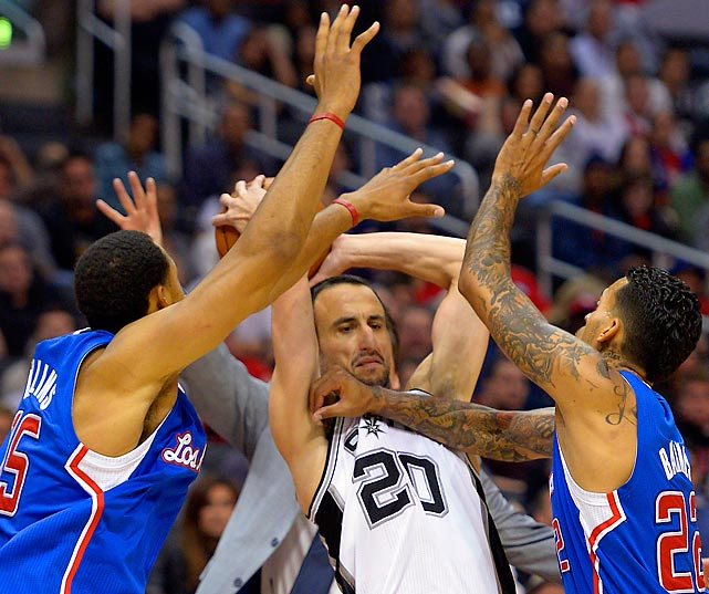 "Manu Ginobili: ""The spider heard I swatted a bat and he's come for revenge."""