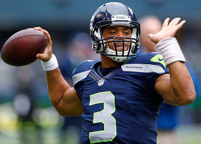 Quickly becoming a folk hero among the 12th Man set, Wilson has been nothing short of spectacular when lacing up his cleats in the Pacific Northwest, posting a nine-to-zero touchdown-to-interception ratio with a rating of 120.2, both the best for any 2012 passer at home.