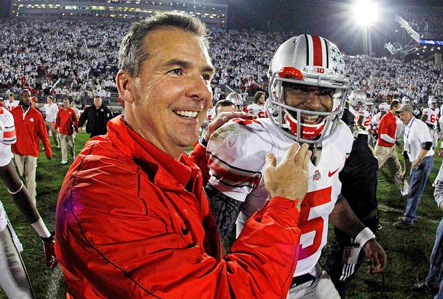 You likely know that Ohio State was on probation, but did you know that they are still unbeaten? Pete Thamel digs into Urban Meyer's wildly successful first year in Columbus and how the revival of the Buckeyes may mean that the Big-10 can rise again.