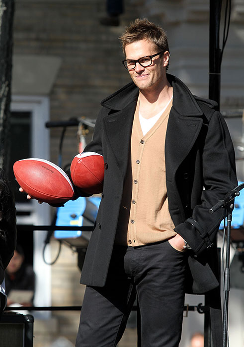 In addition to being one of the NFL's all-time top quarterbacks, Brady has established himself as one of the most fashion-conscious athletes in professional sports. From the good (anything with Gisele) to the bad (hipster glasses) to the downright baffling (slide 6), here is a look at Tom Brady, the fashion icon.