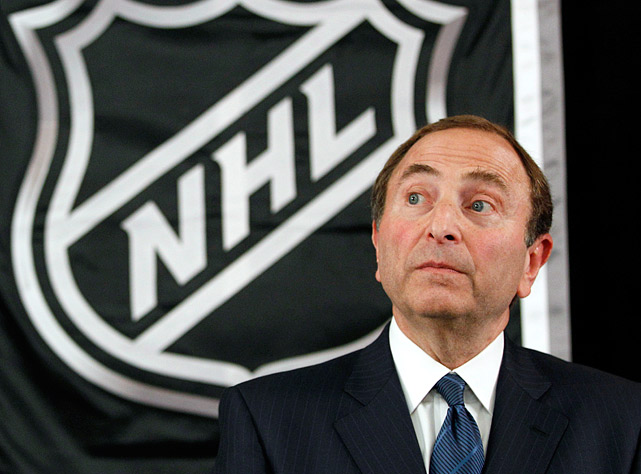 Despite record revenues and growing popularity, the hockey league that can't seem to shoot straight failed to avoid its fourth work stoppage since 1992, and third of Gary Bettman's tumultuous tenure as commissioner. As CBA talks sputtered on and off, team owners and the players union accused each other of being unwilling to negotiate while the lockout killed games through November plus the popular Winter Classic on New Year's Day and threatened the entire schedule for the second time since the lost season of 2004-05.