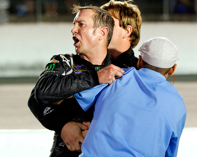 The 2004 Sprint Cup champ continued on his road to nowhere, riding ths reputation as a hothead that had cost him rides with Roush Fenway and Penske Racing. Busch spent 2012 toiling for Phoenix Racing, a lowly single-car outfit and managed all of 5 top-10 finishes while battling with drivers, crew members and reporters and getting himself put on probation (for doing a burnout through Ryan Newman's pit box) and suspended for a race. By the time the season ended, his antics had driven Phoenix into part-time status for 2013 and Busch ended up signing a one-year deal with the even more obscure single-car team Furniture Row, which will likely send him to the chair if he doesn't get his act together.