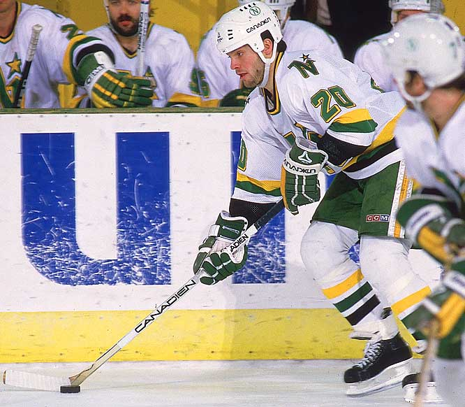 NHL seasons: 19 (1980-99)<br><br>Teams: North Stars, Capitals, Red Wings, Lightning, Panthers