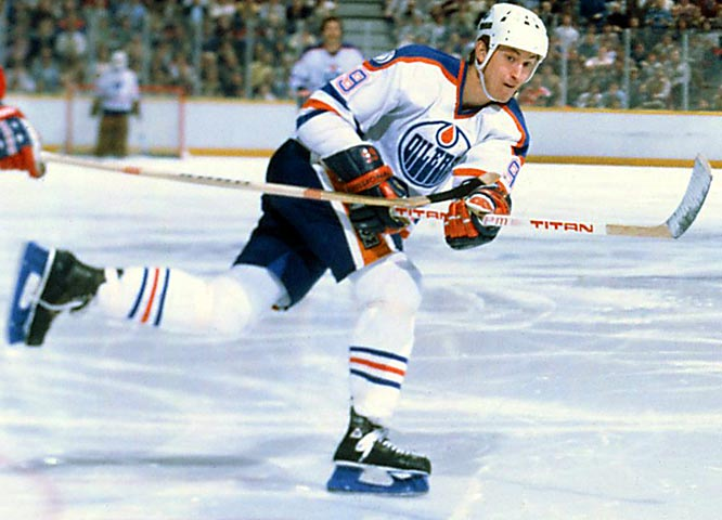 NHL seasons: 20 (1979-99)<br><br>Teams: Oilers, Kings, Blues, Rangers