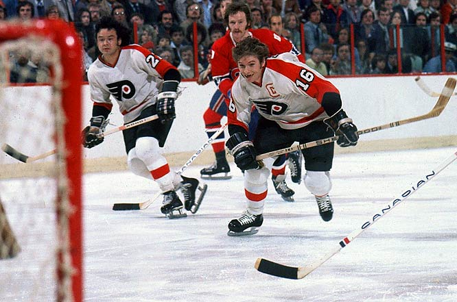 The Philadelphia Flyers 35-game unbeaten streak during the 1979-80 season, during which Philly went 25-0-10.