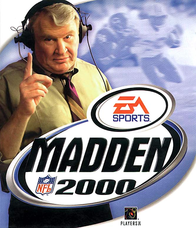 If you look closely, you can see Sanders in the background. The electric Lions running back started the Madden jinx by announcing his retirement before the 1999 season and never returning to the NFL.