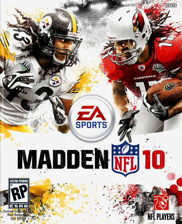 Polamalu finished the 2008 season with a career-high seven interceptions and led the Steelers defense to its second Super Bowl victory in four years.  Late in the first half of the Steelers-Titans 2009 season opener, Polamalu, who was having an All-Pro first half, suffered a sprained MCL in his left knee after 262-pound Titan Alge Crumpler fell on his leg. Polamalu played in just four more games for the season.  Although Fitzgerald posted lower receiving yards (1,092) in 2010 after consecutive 1,400-yard seasons, he managed to score a career-high 13 TDs.  It would appear that Polamalu took the brunt of this cover curse.