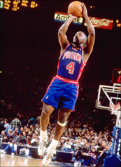 Taken out of tiny McNeese State, Dumars grew into a six-time All-Star, the 1989 Finals MVP and a Hall of Fame shooting guard. Not only did he provide Pistons coach Chuck Daly a steady locker-room presence on a roster filled with guys who weren't afraid to stir emotions, but Dumars also remained to tutor a far less talented generation of Pistons on how to act and play like professionals. Not bad for the guy selected one pick after Uwe Blab.