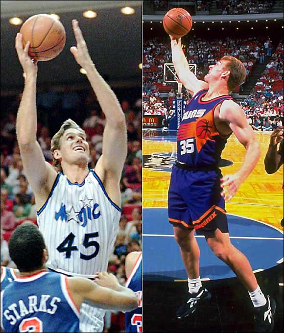 Koncak and Kleine spent the bulk of their time in the NBA cashing in on their right to commit six fouls per game.