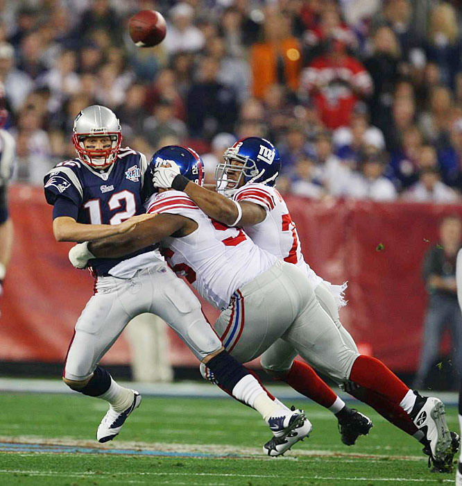 One of the biggest underdogs in Super Bowl history, the New York Giants made some history of their own in Super Bowl 42, upsetting the previously undefeated New England Patriots with a pair of touchdowns in the fourth quarter, the clincher with 35 seconds left in the game. The victory capped an improbable run of 11 straight road victories by the Giants, including four straight in the playoffs.<br><br>What upset would you add to the list. Send comments to siwriters@simail.com.