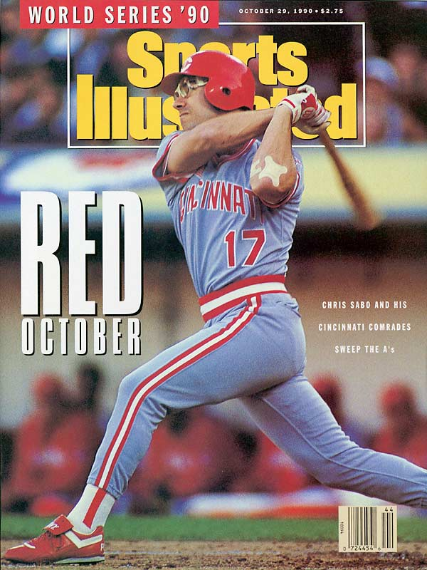 Talk of a dynasty followed the A's into the 1990 World Series. The Reds ended that notion by sweeping Oakland and outscoring the A's 22-8.