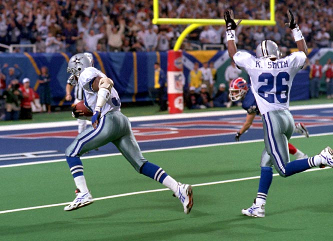 Washington spent the regular season coming off the bench as a nickel back. But the opportunistic free safety played a starting role in Super Bowl XXVIII thanks to Buffalo's dependence on three-receiver sets. The UCLA product responded to the increased workload with 11 tackles, an interception, a forced fumble and a recovery of Thurman Thomas's fumble for the game-turning touchdown midway through the third quarter.