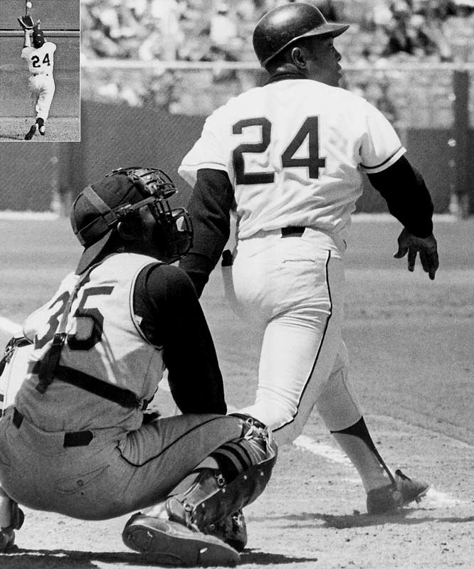 In the city of San Francisco, May 24 is known as Willie Mays Day. The ''Say Hey Kid'' hit 660 home runs over 19 seasons.<br><br>Runner-up: Ken Griffey Jr. (Seattle)<br><br>Worthy of consideration: <br>Barry Bonds (Pirates), Dwight Evans, <br>Rickey Henderson (Yankees, A's), Tony Perez, Manny Ramirez,<br> Early Wynn and Jimmy Wynn