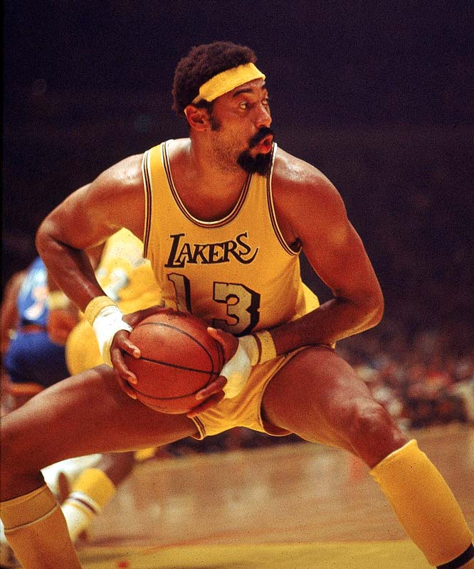 Possibly the most physically dominant athlete in history, Chamberlain learned how to be a role player midway through his career when he suddenly started becoming one of the league leaders in assists. No, he wouldn't be happy coming off the bench on this team, but he'd play like hell to prove that he should be starting over Abdul-Jabbar.