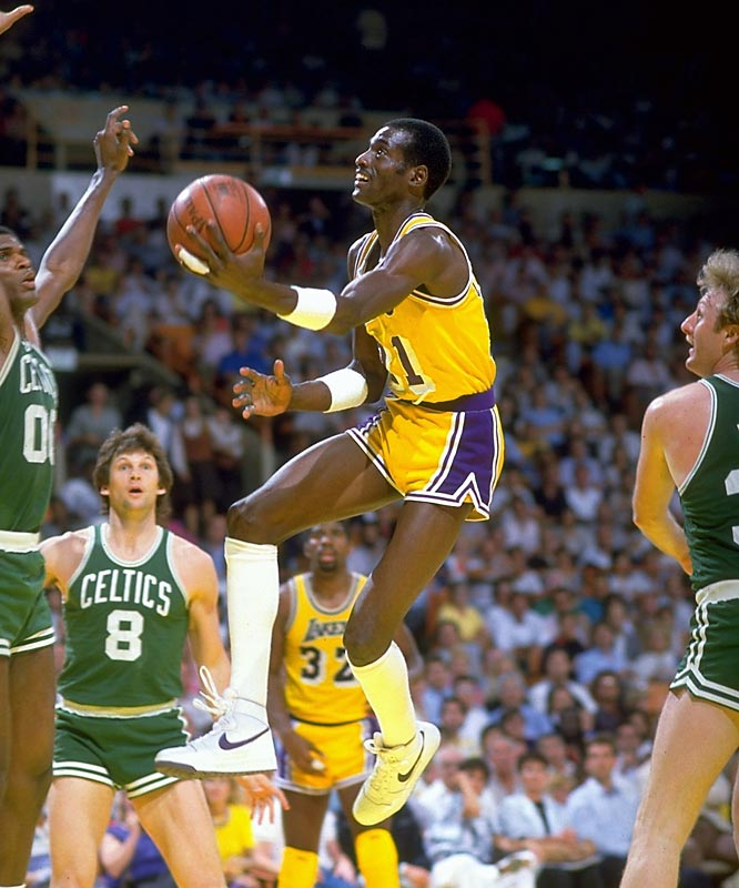 "Shouts of COOOOOP! used to ring down from the rafters at the Forum. On Lakers teams known for the fun-fun-fun wizardry of Magic and the icy efficiency of Abdul-Jabbar and Worthy, Cooper provided the grit. He really wasn't a ""Bird-stopper"" -- nobody was -- but it was fun watching him match up on the Celtics' star, for Cooper backed down for no man. And he was a reliable three-point shooter, too."