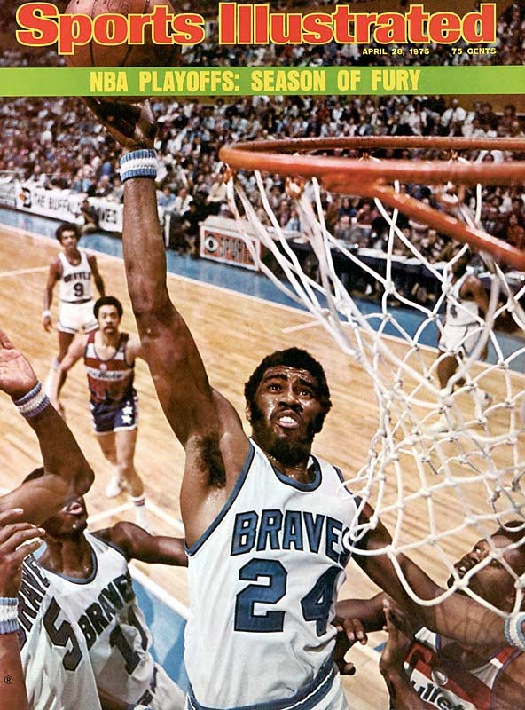 It was the most clutch shot in the Greatest Game Ever Played. With his Suns trailing by two points with one second to play in double OT of Game 6 of the '76 Finals in Boston, Garfield Heard took an inbounds pass and swished a turnaround 20-foot jumper from the top of key to send it into a third extra period. The Suns would go on to fall, 128-126, but Heard's heroic jumper was truly Heard Round the NBA World.