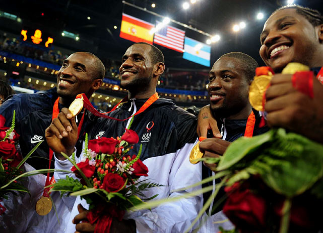 "After winning the 2007 FIBA American Championships, the revamped Team USA -- led by coach Mike Krzyzewski and USA Basketball boss Jerry Colangelo -- earned the nickname ""The Redeem Team."" And at the 2008 Olympics in Beijing, the new-look squad didn't disappoint, dominating pool play and defeating Spain 118-107 in the gold medal game."