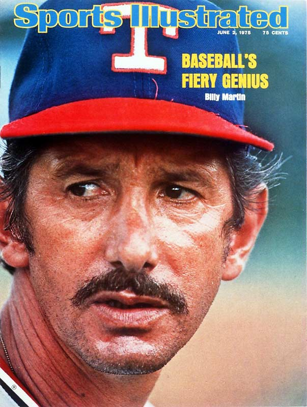 Billy Martin becomes the first AL manager to be ejected from two games in one day.
