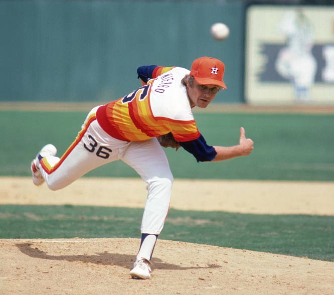 Astros' hurler Joe Niekro notches his 200th career victory. The Niekro brothers (Joe & Phil) will join the Gaylords (Jim & Gaylord) as the only brothers to win at least 200 games per pitcher.