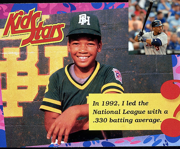 The Detroit Tigers designated hitter helped his Belmont (Florida) Little League team reach the 1980 Little League World Series. Now in his 20th season, Sheffield has played in nine All-Star Games and won the World Series with the Florida Marlins, in 1997.