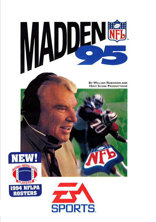 Real player names are the highlight here. Plus, Madden hits the handheld gaming scene (Game Boy and Game Gear).