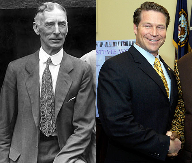 Connie Mack IV wasn't an athlete himself, but baseball is in his blood. The Congressman from Florida is the great-grandson of Connie Mack, the Hall of Fame manager of the Philadelphia Athletics.