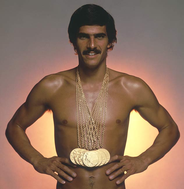 Mark Spitz wins his seventh swimming gold medal at the 1972 Summer Olympics in Munich, Germany, becoming the first Olympian to do so. Spitz set world records in all seven events in which he swam.