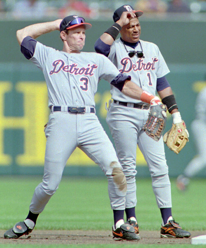 Detroit rookies Lou Whitaker and Allan Trammell debut for the Tigers. The duo will play together for 19 years