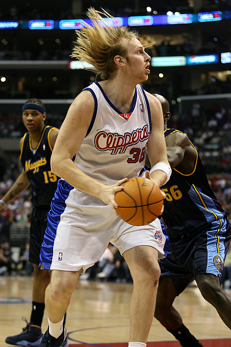 Judging by his mangy mane, it's no wonder the Clippers center earned the nickname Captain Kaman, as in Captain Caveman. Lucky for us, this picture was taken in 2006 and Kaman has since cut his long locks.